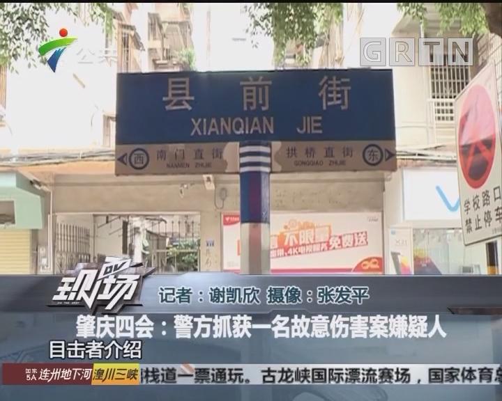 肇庆四会:警方抓获一名故意伤害案嫌疑人