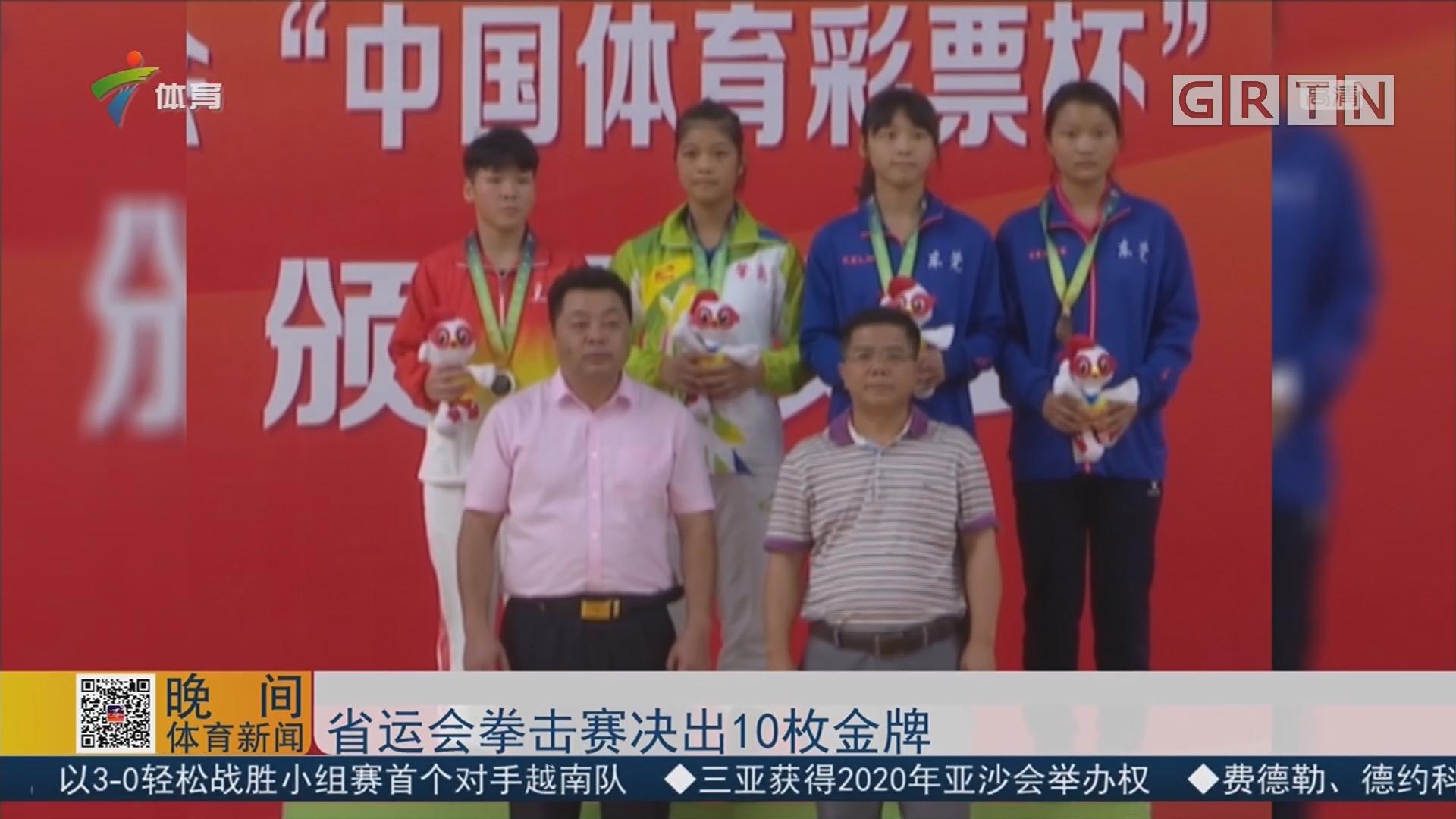 省运会拳击赛决出10枚金牌