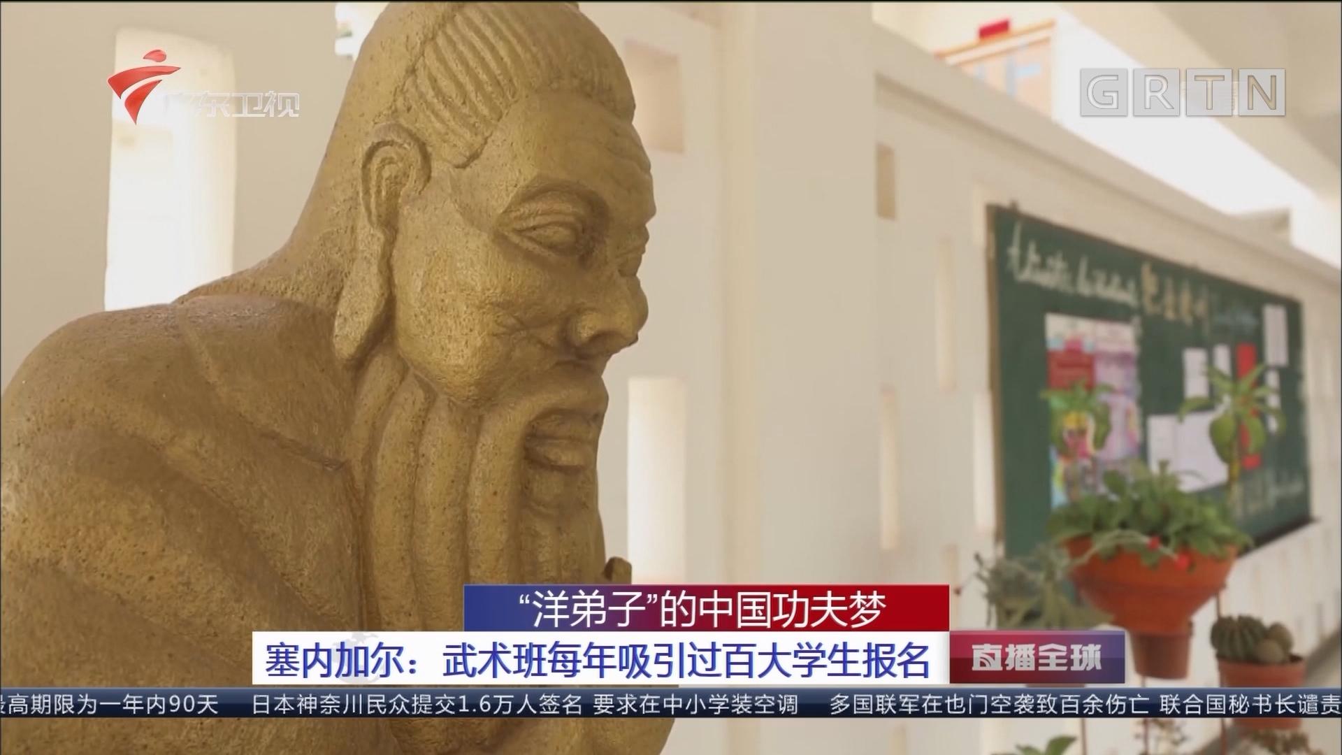 """""""洋弟子""""的中国功夫梦 塞内加尔:武术班每年吸引过百大学生报名"""
