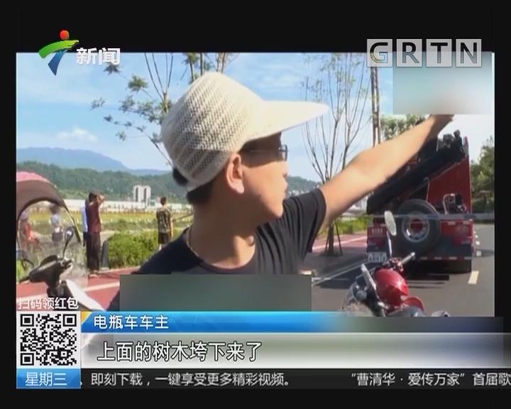 四川:突发山体垮塌砸向公路 3车被压1人伤
