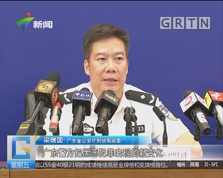 广东公安:公开悬赏缉拿50名在逃黑恶势力犯罪嫌疑人