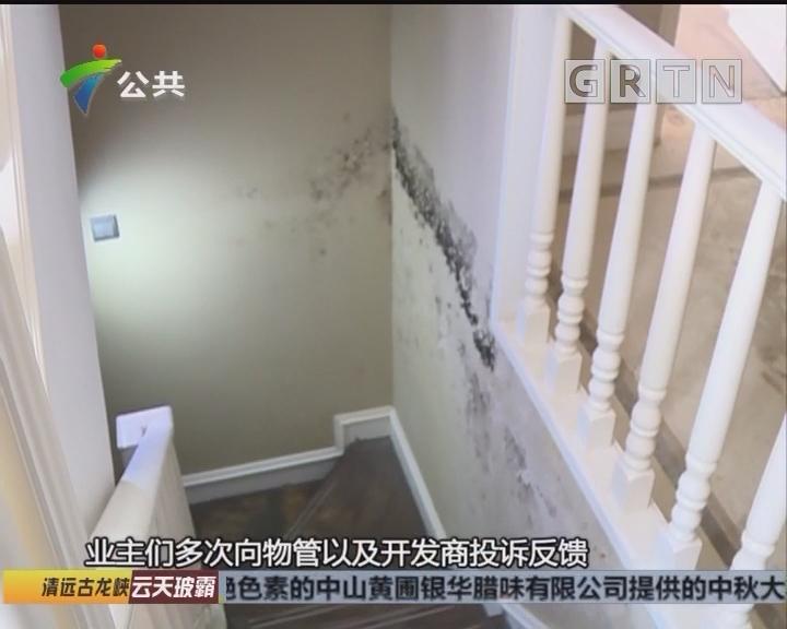 肇庆:下水道倒灌 房屋多处被泡