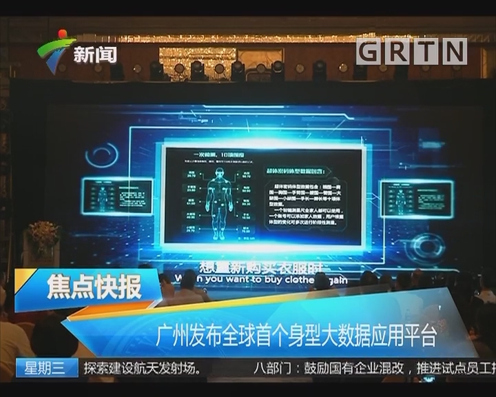 广州发布全球首个身型大数据应用平台