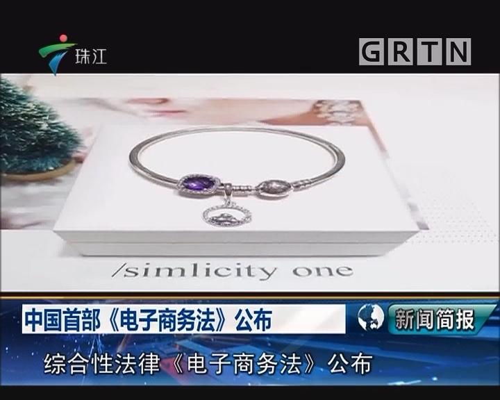 中国首部《电子商务法》公布