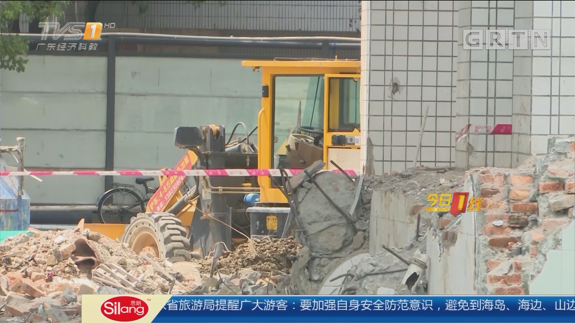 深圳:教学楼边改造边上课 安全难保证