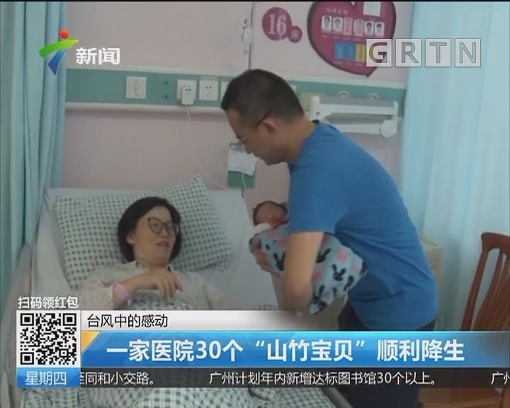 """台风中的感动:一家医院30个""""山竹宝贝""""顺利降生"""