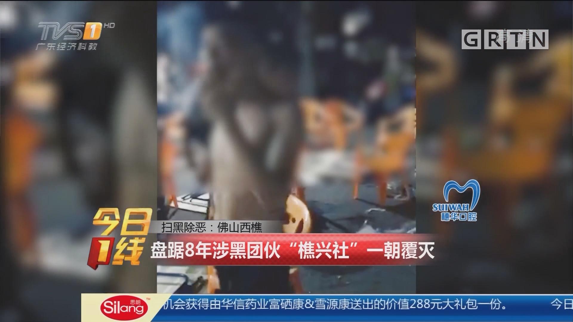 """扫黑除恶:佛山西樵 盘踞8年涉黑团伙""""樵兴社""""一朝覆灭"""