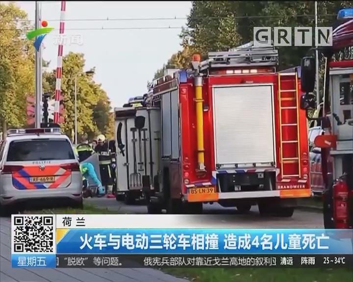荷兰:火车与电动三轮车相撞 造成4名儿童死亡
