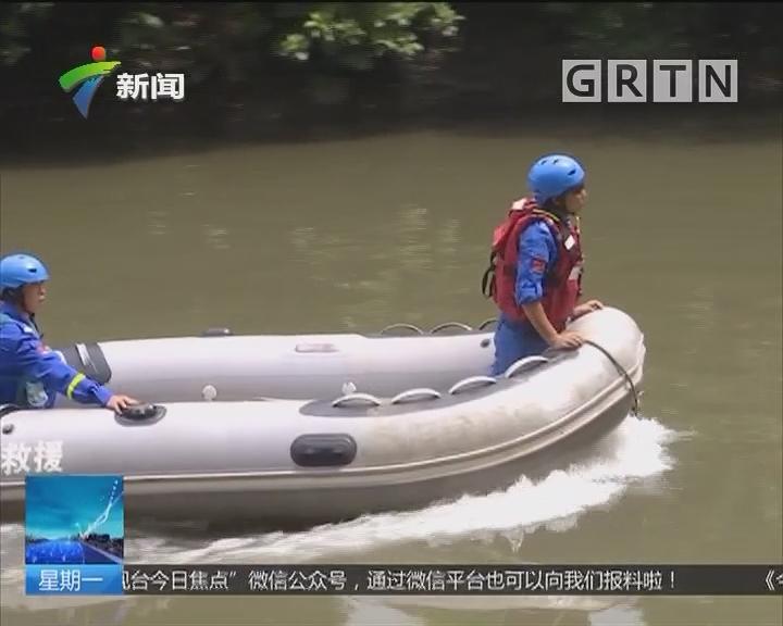 佛山南海:男童不慎落水 路人施救无果