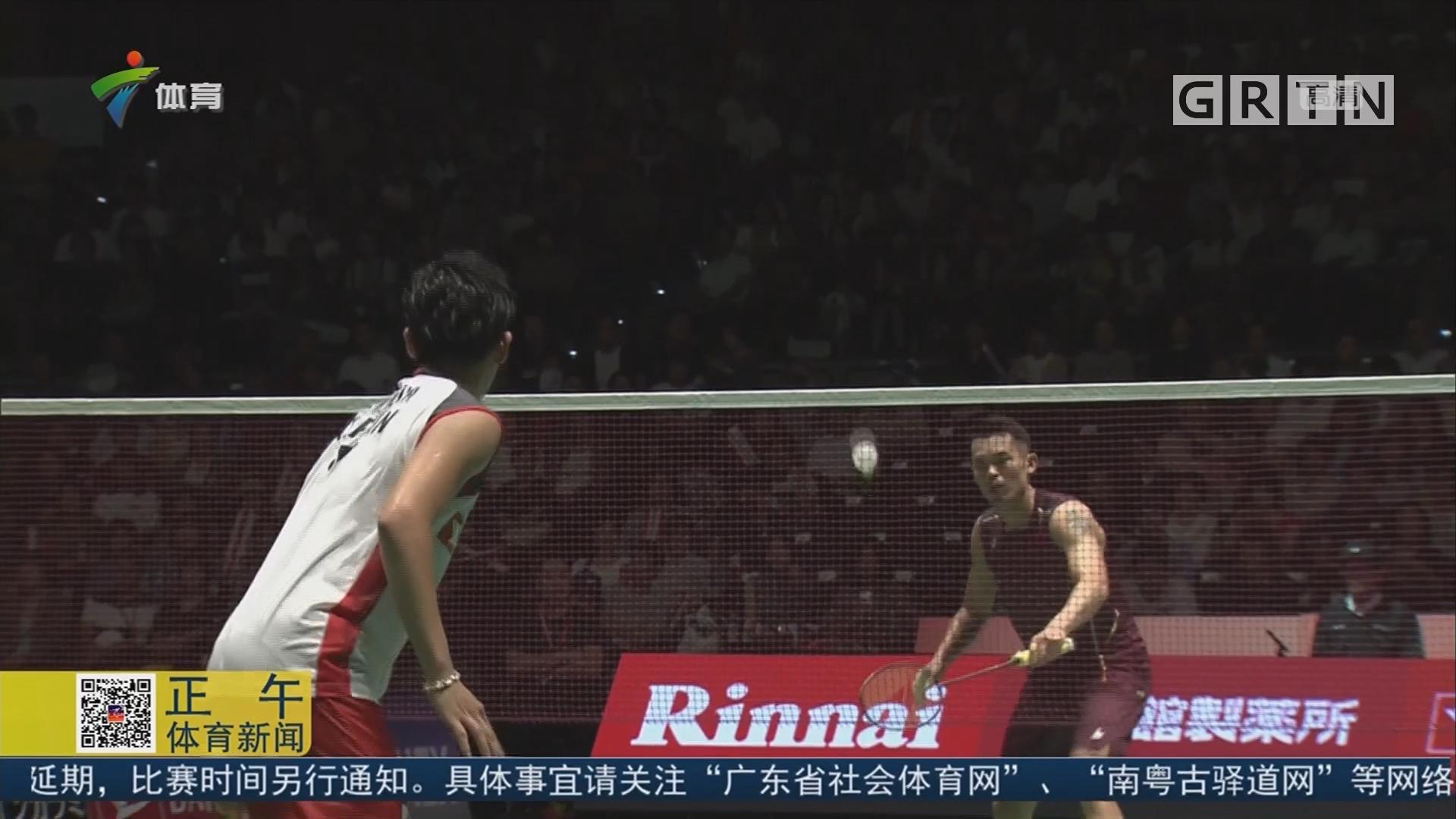 世界羽联日本公开赛 林丹不敌新科世锦赛冠军