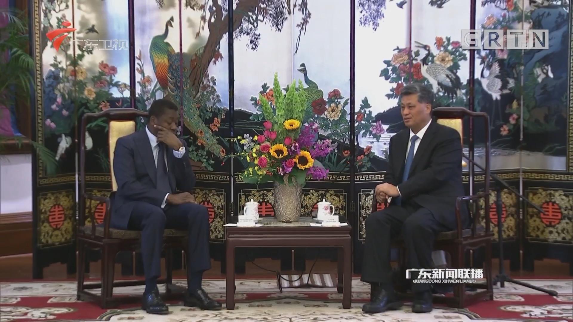马兴瑞会见多哥总统