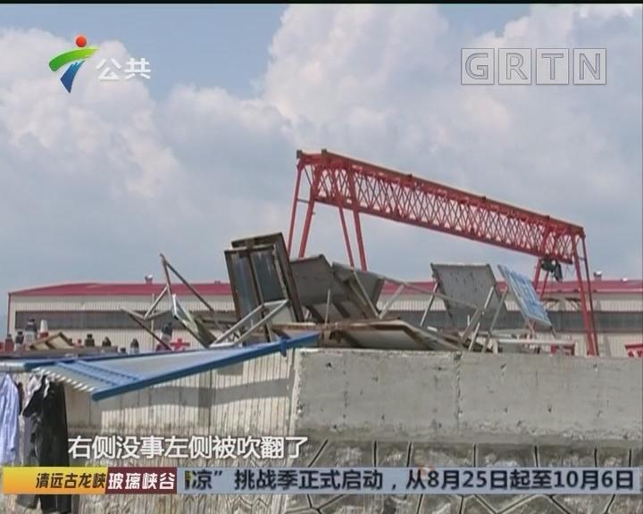 街坊求助:台风天飞来庞然大物 自家餐厅毁于一旦