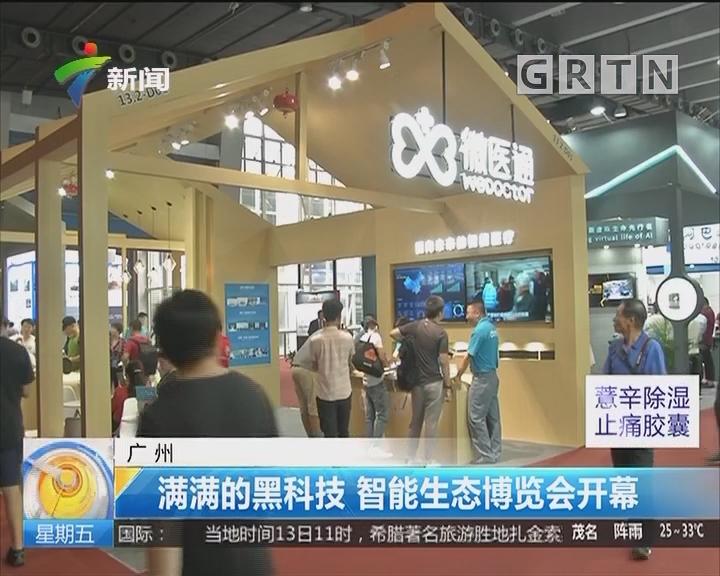 广州:满满的黑科技 智能生态博览会开幕