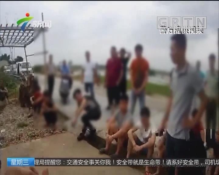 暴力手段非法拘禁他人 揭阳一涉黑团伙落网