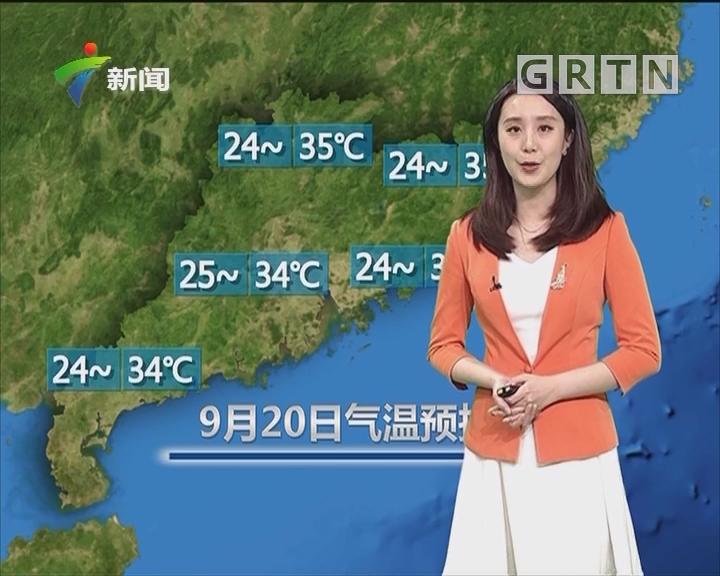 20180920天氣預報