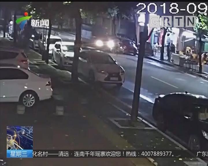 中山:货车逆行撞单车 肇事车主驾车逃逸