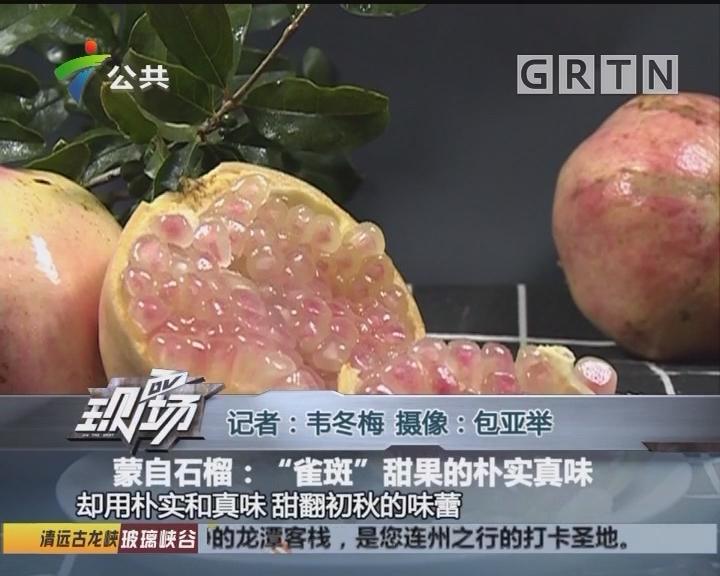 """蒙自石榴:""""雀斑""""甜果的朴实真味"""