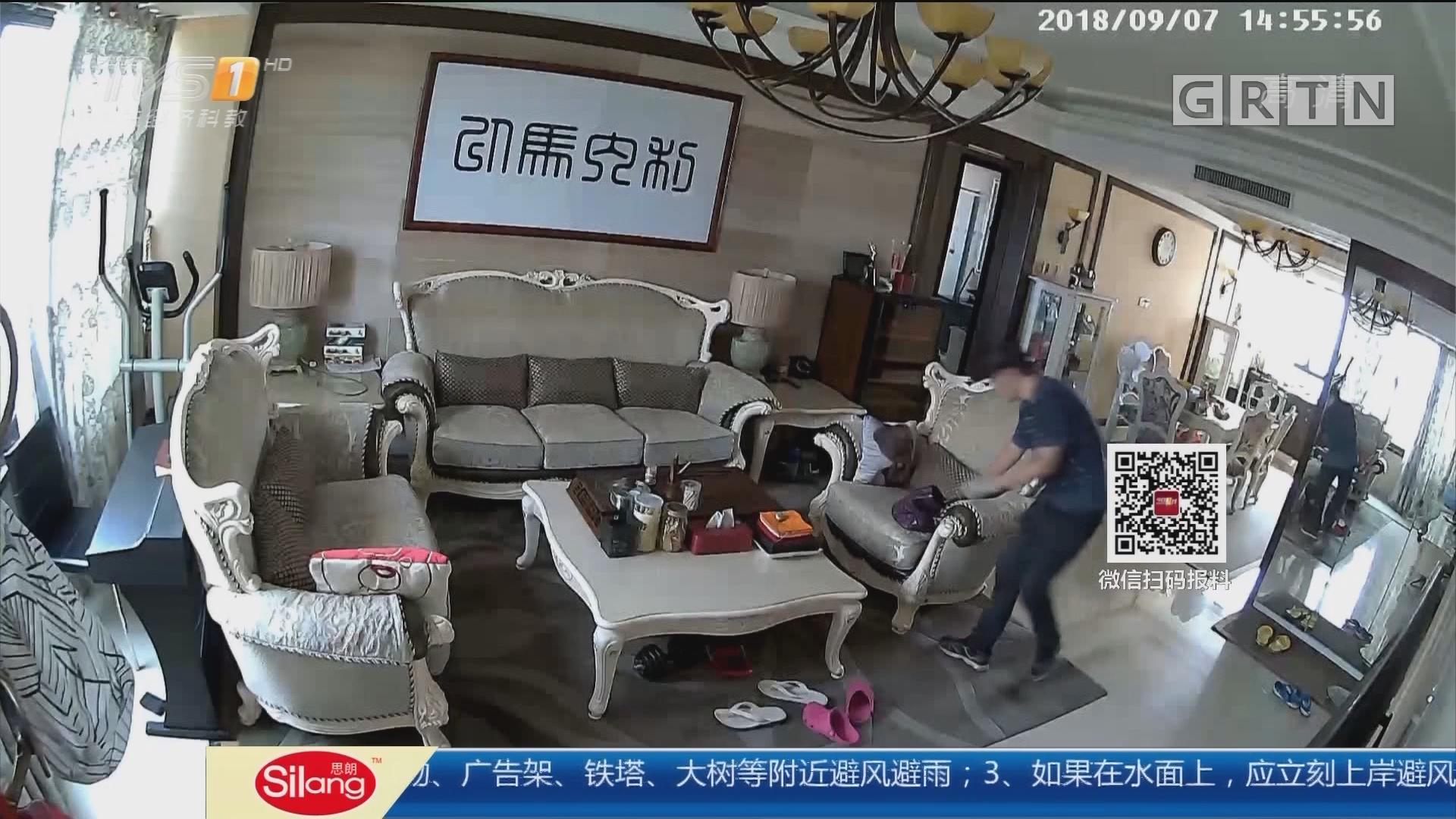 广州番禺区:小区半个月接连失窃 警方调查