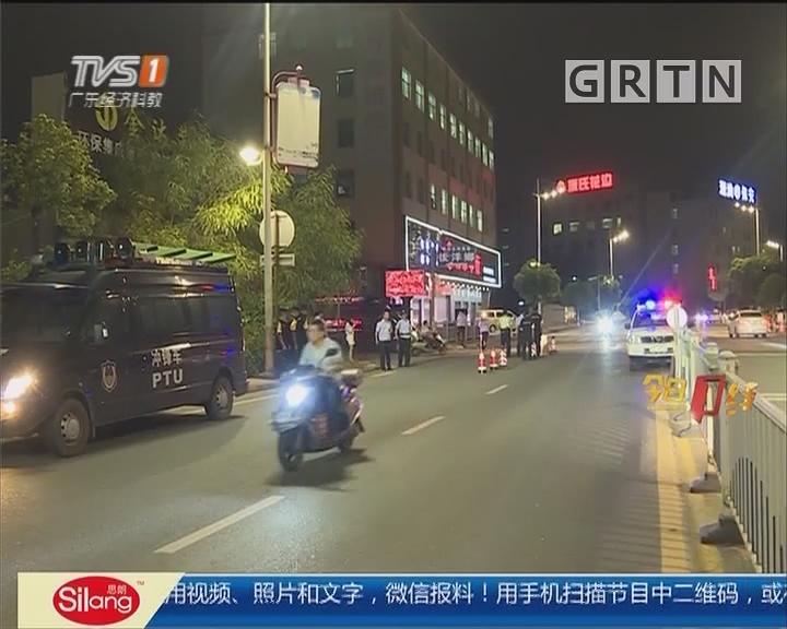汕头潮南:警方加大巡查力度 一举抓获15名飙车小伙