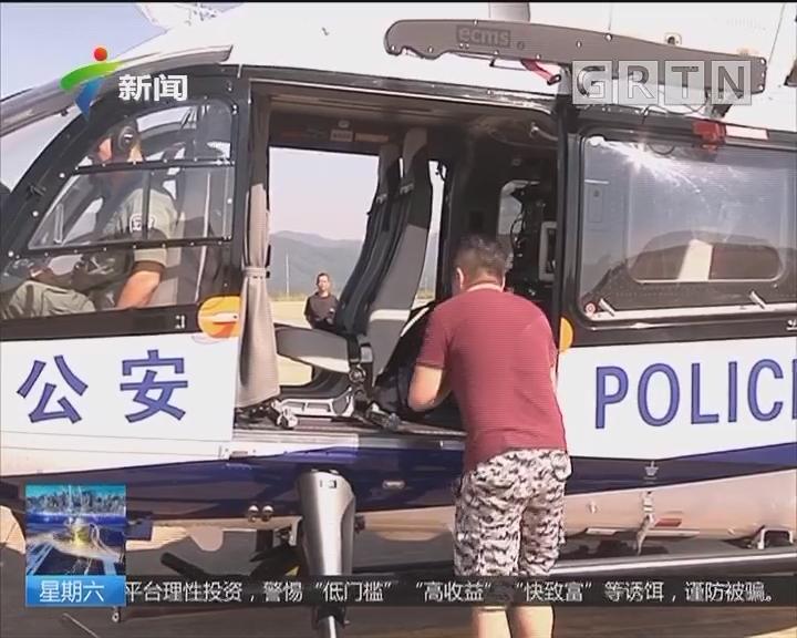 航拍返程高峰:记者登警用直升机 直击黄金周返程高峰