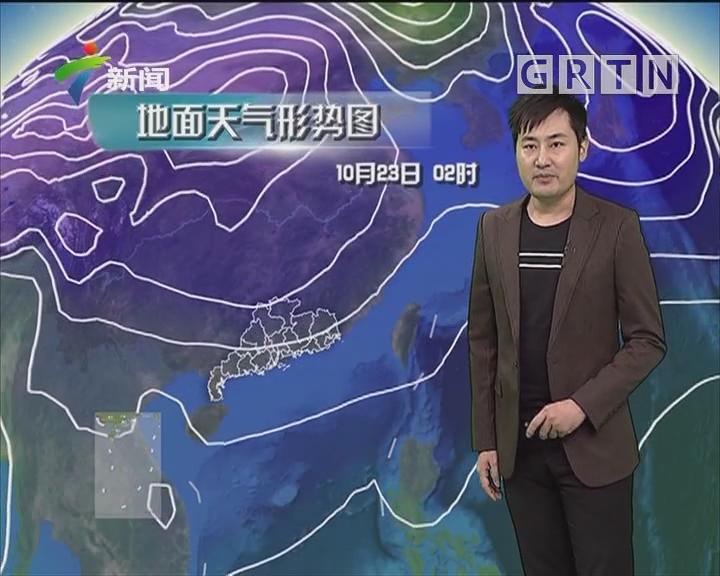 20181022天气预报