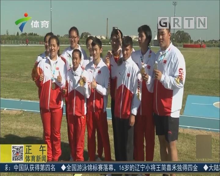 中国田径小将得到锻炼 收获经验