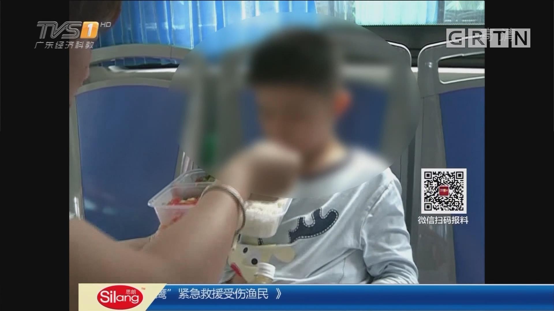 """系列专栏""""温度"""":深圳 9岁男孩7天两次走失 幸遇司乘热心照料"""