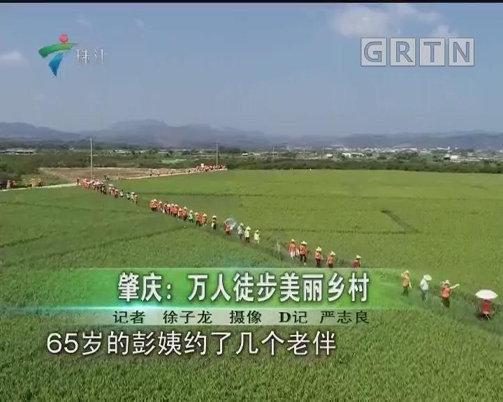 肇庆:万人徒步美丽乡村