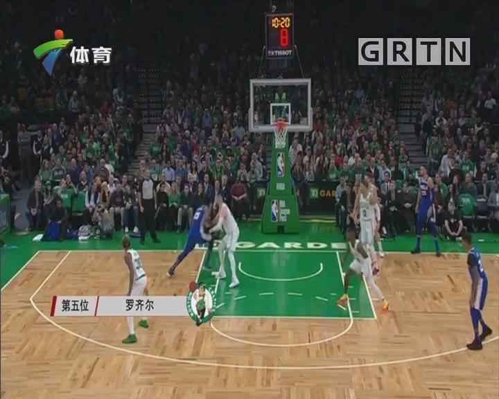 NBA精彩5佳球