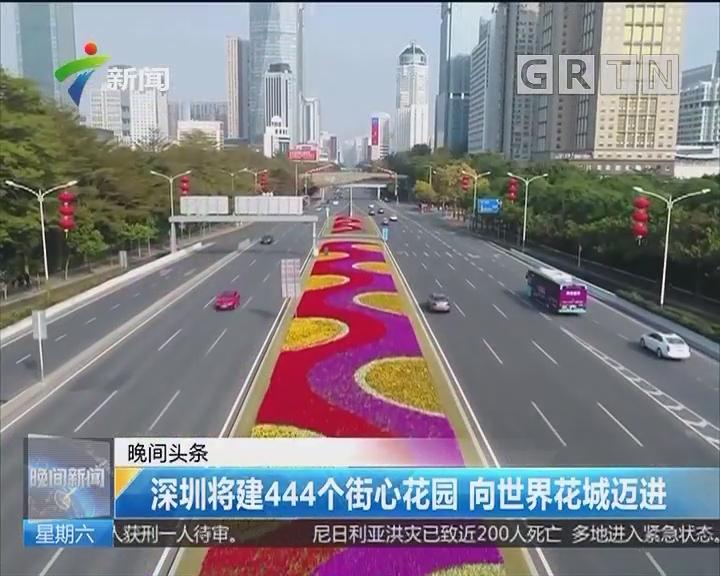深圳将建444个街心花园 向世界花城迈进
