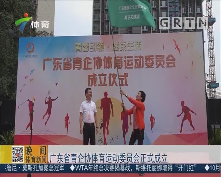 广东省青企协体育运动委员会正式成立