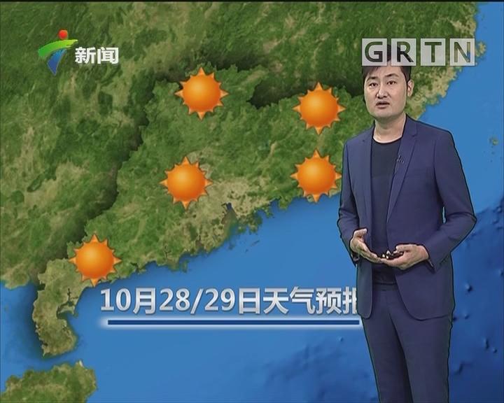20181027天气预报