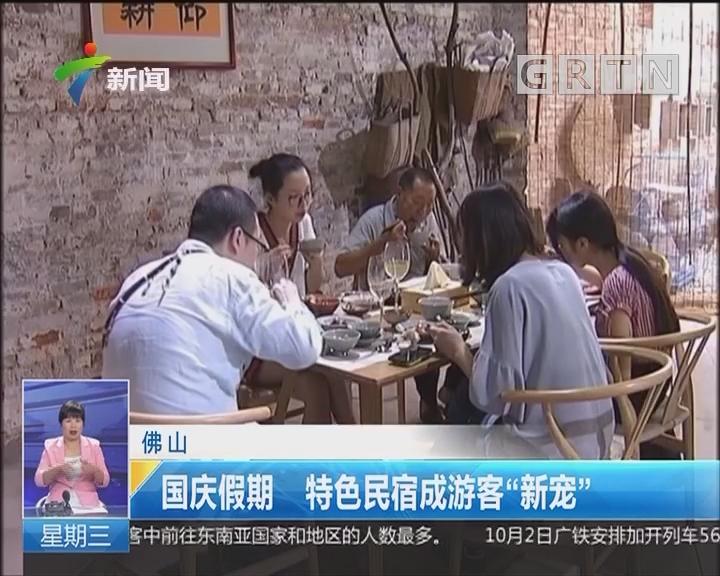 """佛山:国庆假期 特色民宿成游客""""新宠"""""""
