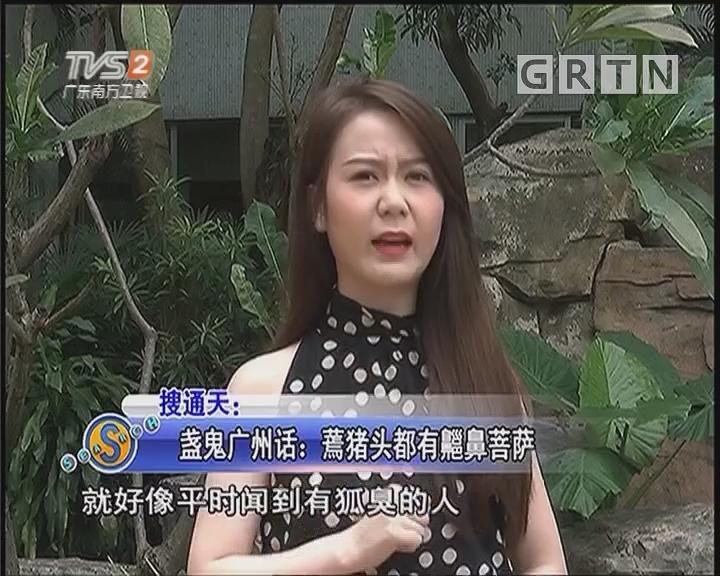 盏鬼广州话:蔫猪头都有齆鼻菩萨