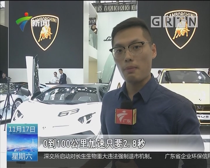 """广州国际车展昨天开幕:豪车馆精英尽出""""秀肌肉"""""""