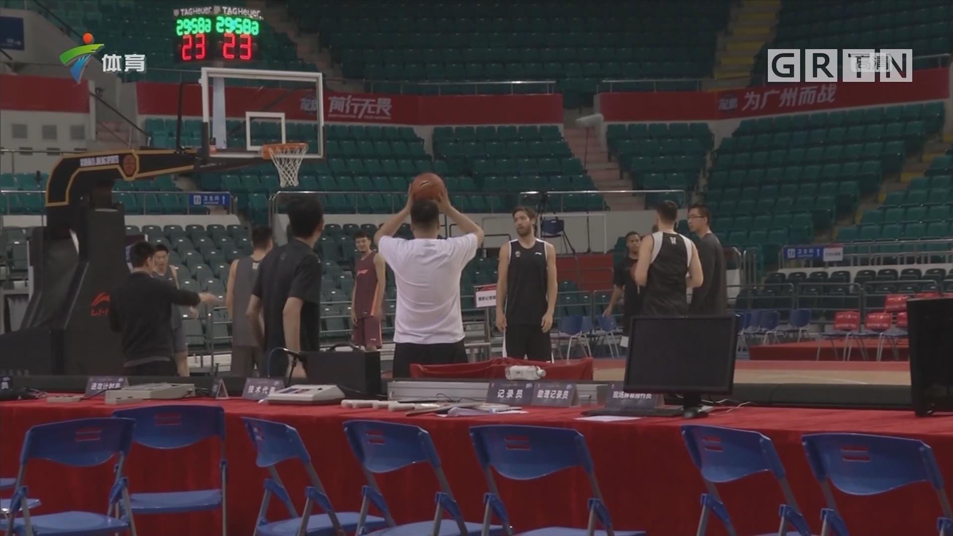 记者连线:广州vs同曦