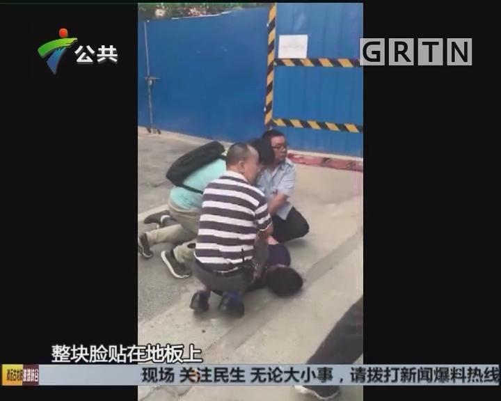 广州:小偷白天光顾小区 保安街坊合力围堵