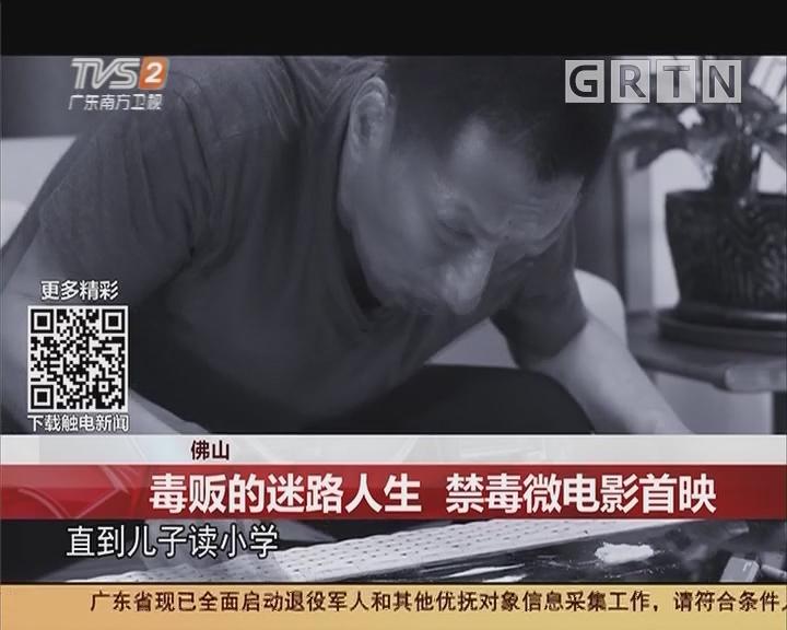 佛山:毒贩的迷路人生 禁毒微电影首映