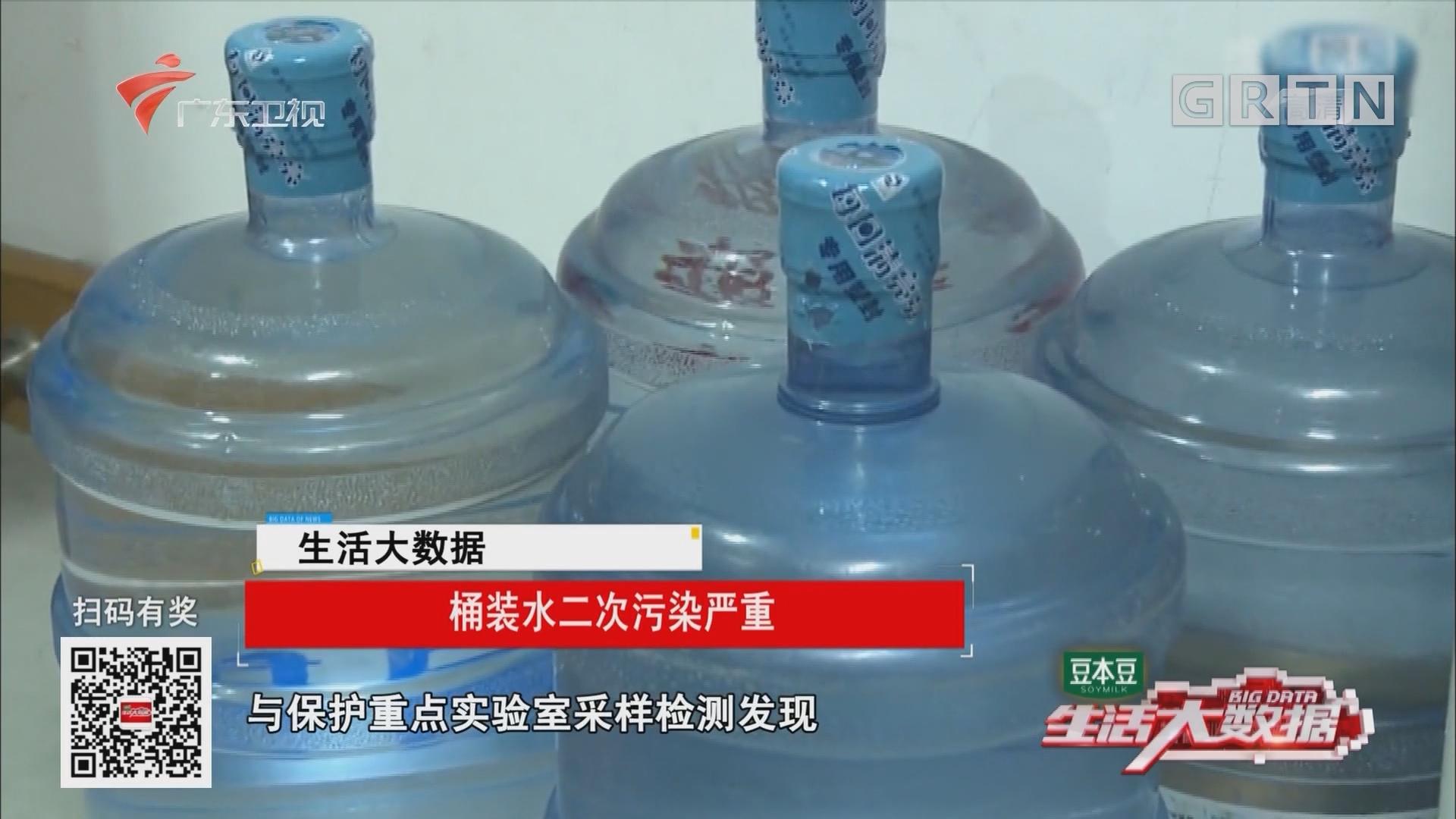 桶装水二次污染严重