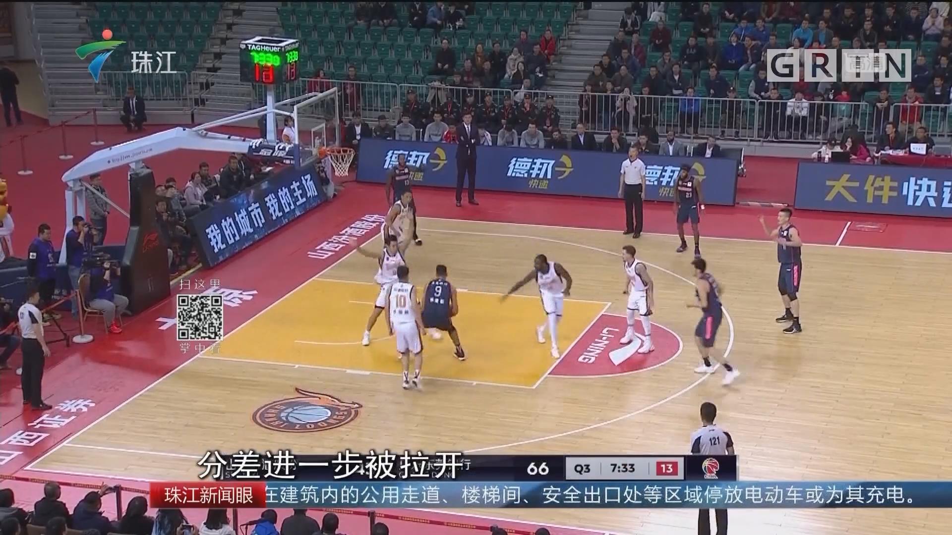 CBA:广东东莞银行豪取13连胜