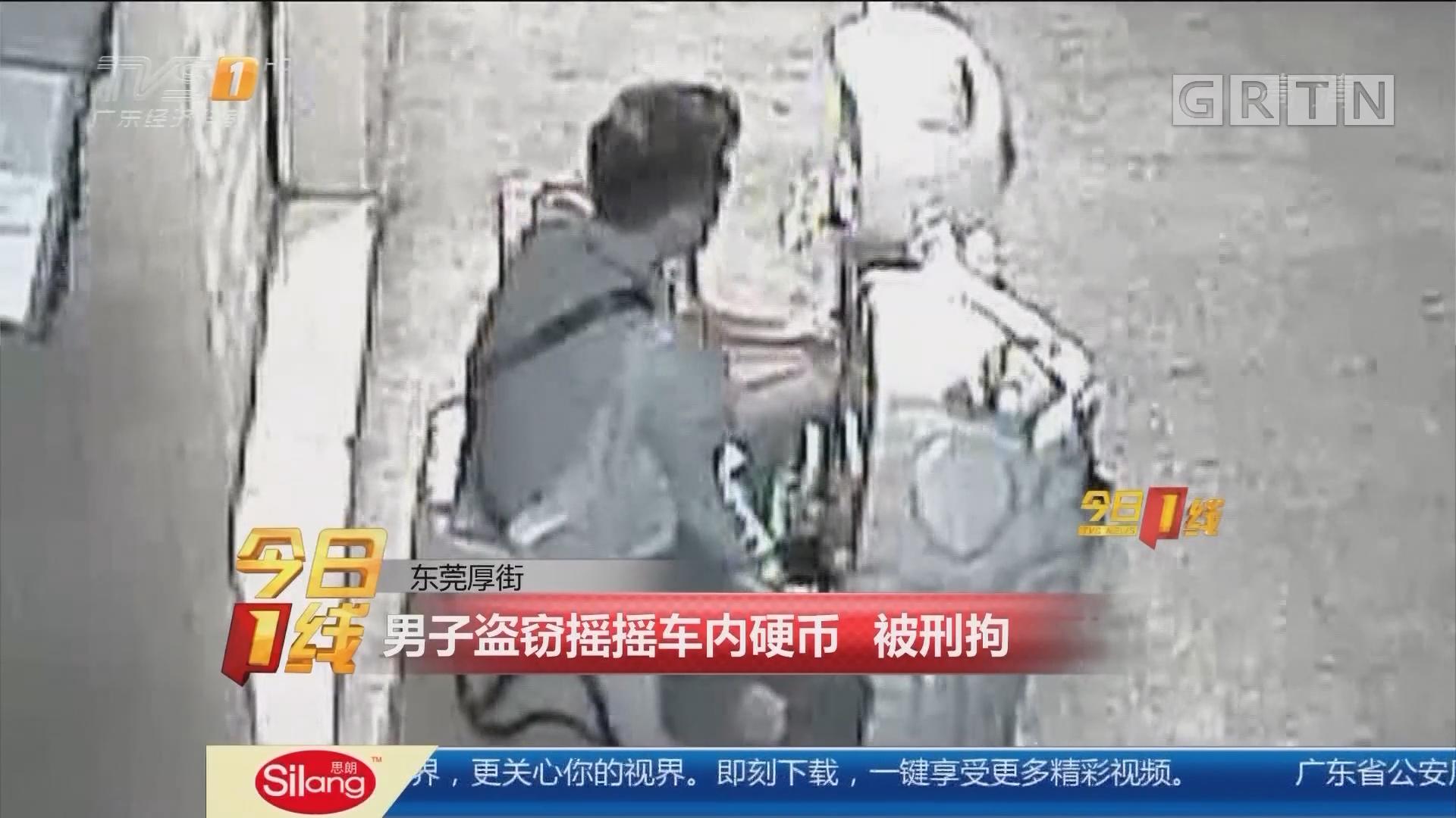 东莞厚街:男子盗窃摇摇车内硬币 被刑拘