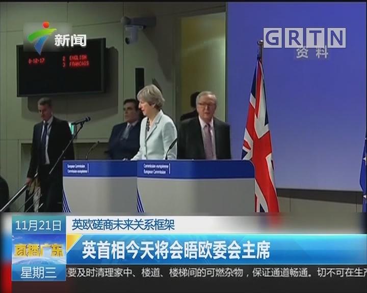 英欧磋商未来关系框架:英首相再次召集内阁会议