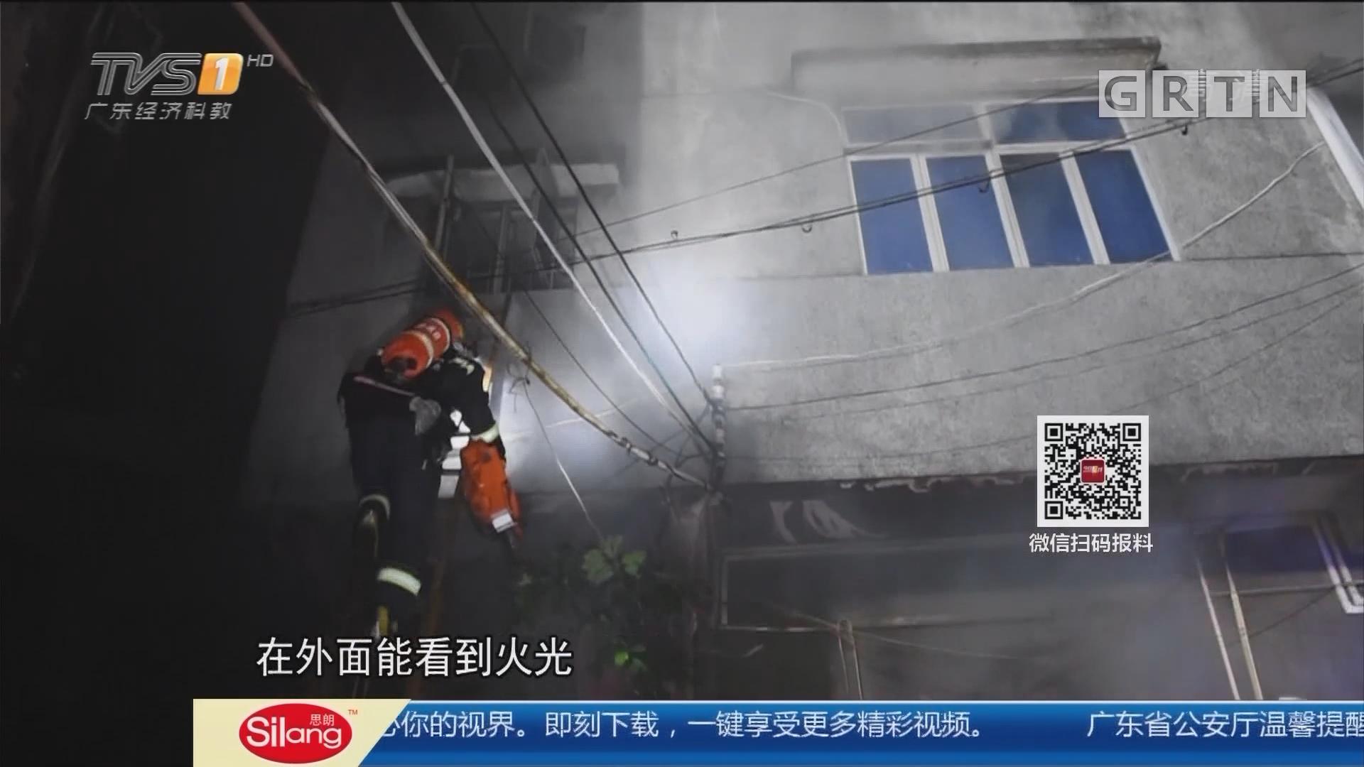 广州南沙:防盗网上没留逃生窗口 两人被困火海