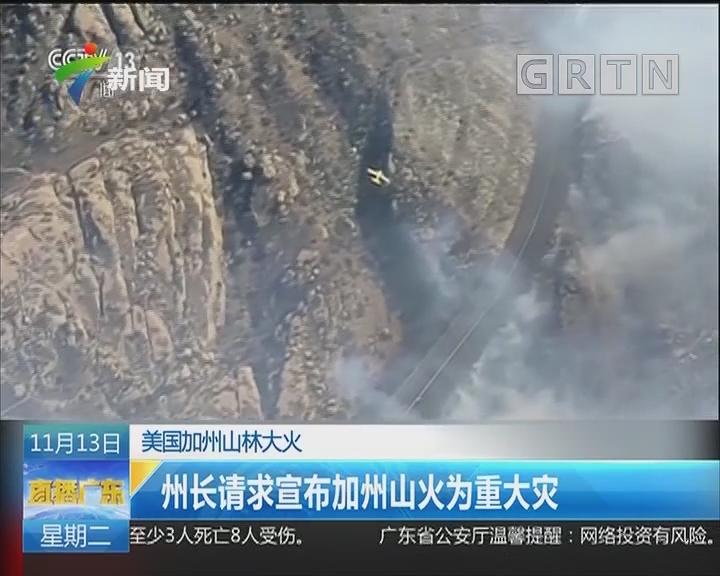 美国:加州山林大火已致44人死亡