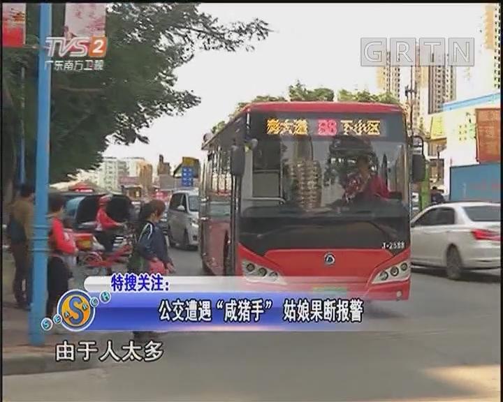 公交遭遇咸猪手姑娘果断v猪手女生恋海芋版图片