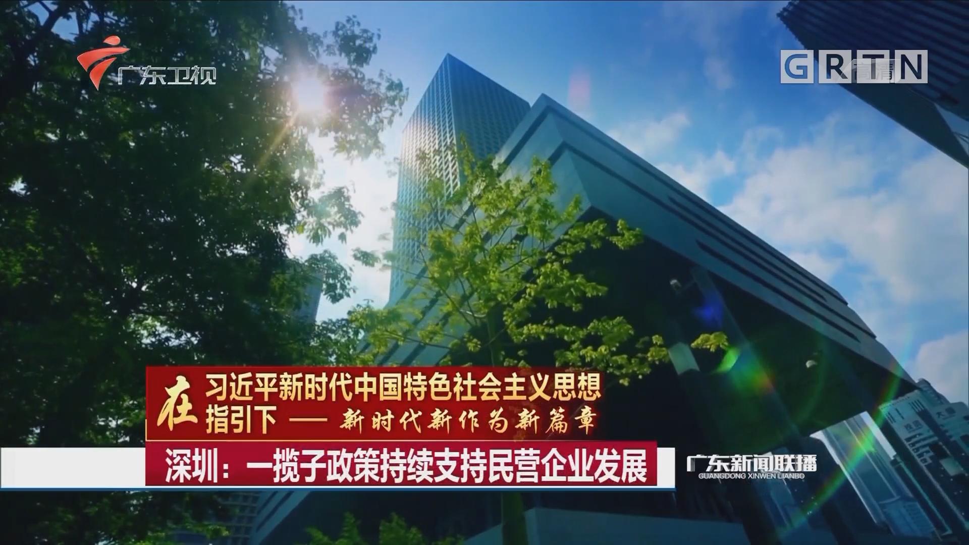 深圳:一揽子政策持续支持民营企业发展