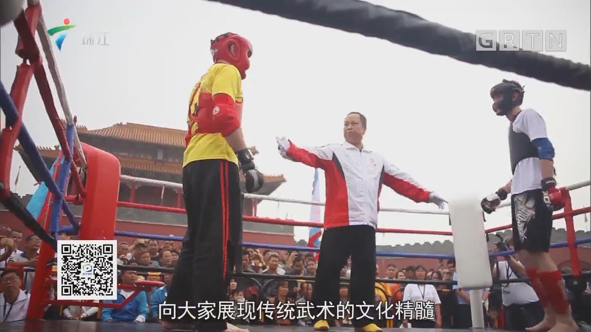 港剧功夫高手现真身 中外洪拳高手同台PK