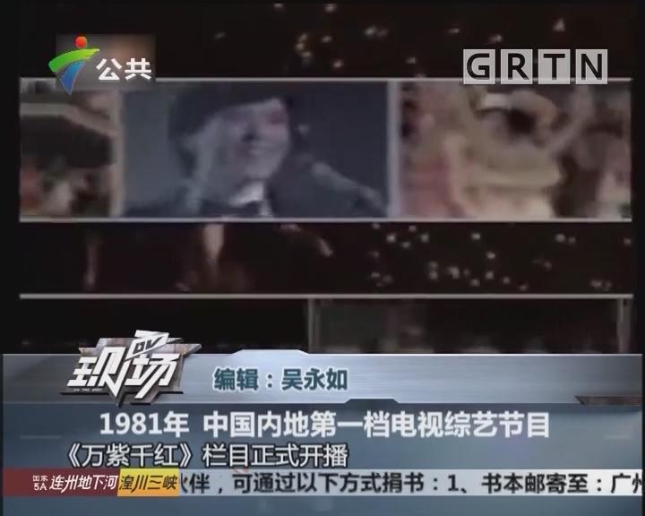 1981年 中国内地第一档电视综艺节目