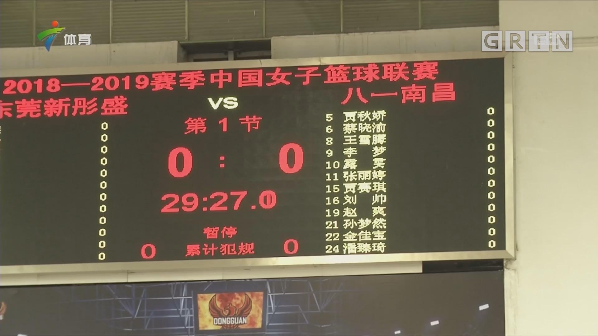 2018-2019赛季中国女子篮球联赛