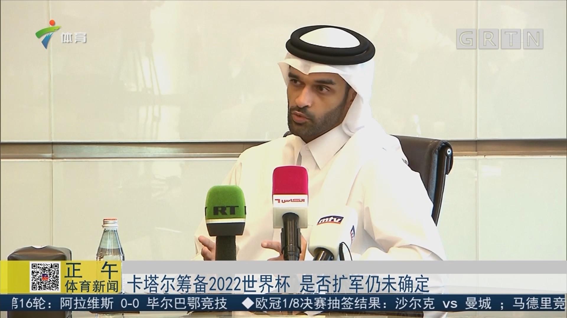 卡塔尔筹备2022世界杯 是否扩军仍未确定